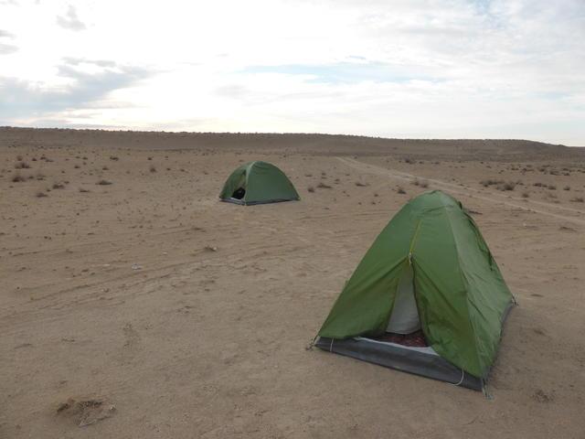 Darvaza Wild Camping