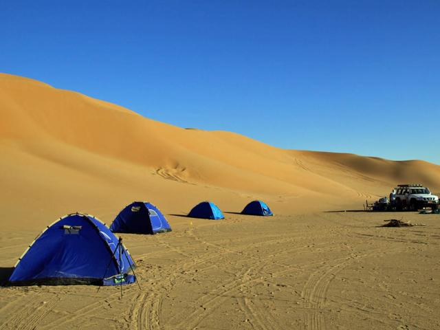 Empty Quarter Wild Camp