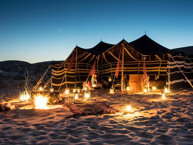 Hud Hud Shared Camp - Wahiba Sands