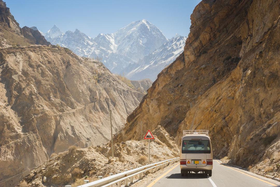 The Karakoram Highway