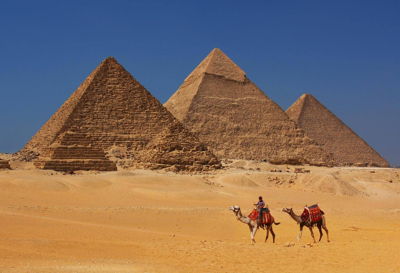 A must places to visit is Cairo and the Giza Pyramids by camel back