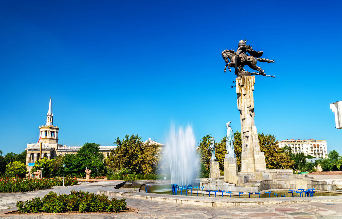 Bishkek is a must place to visit in Kyrgyzstan