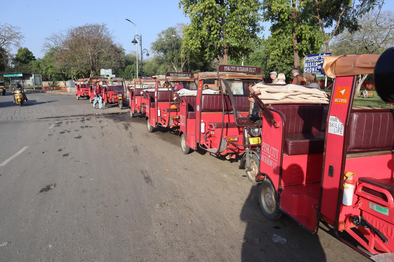 The Pink City Rickshaws