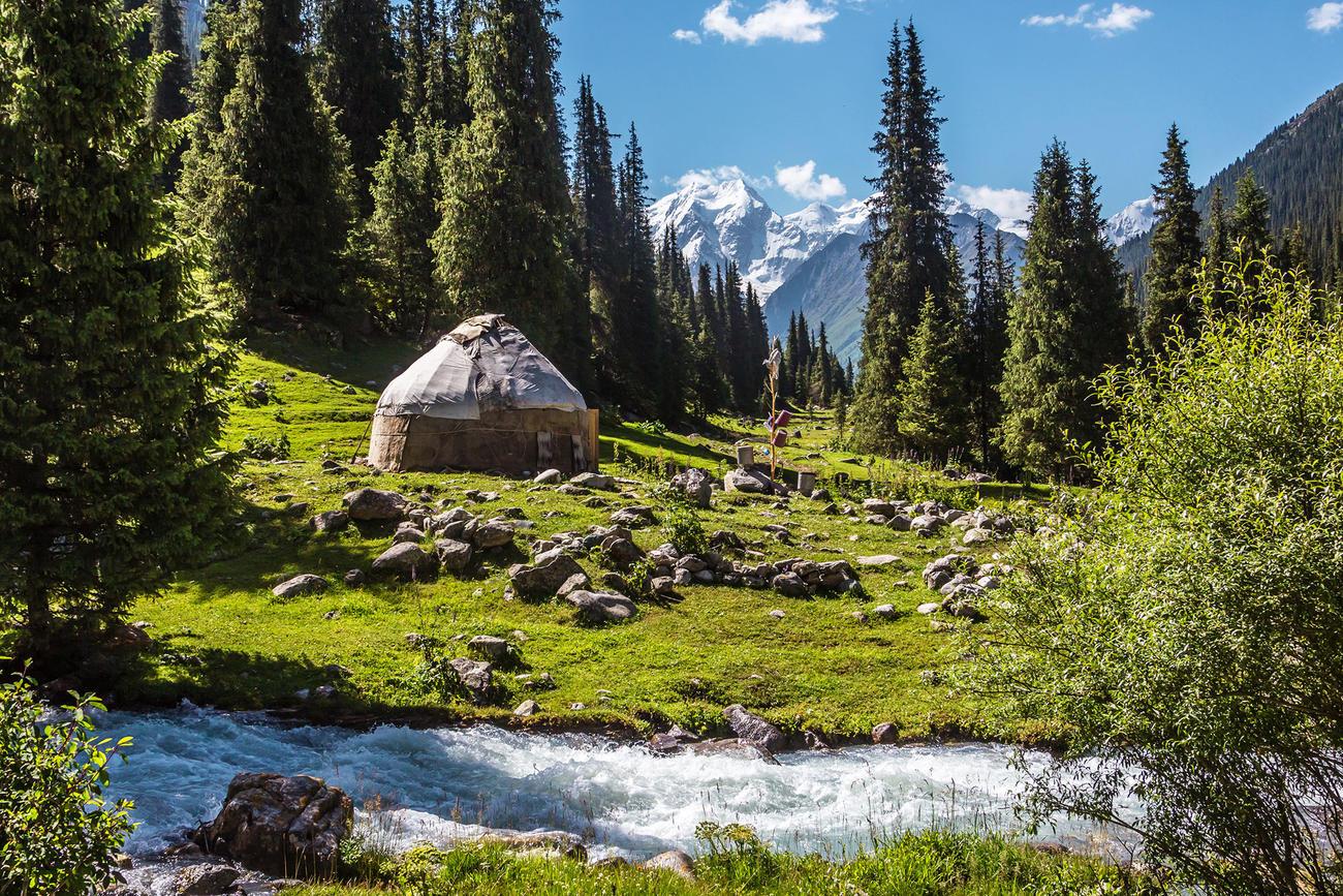 Visit Jety-Oguz Canyon when in Kyrgyzstan