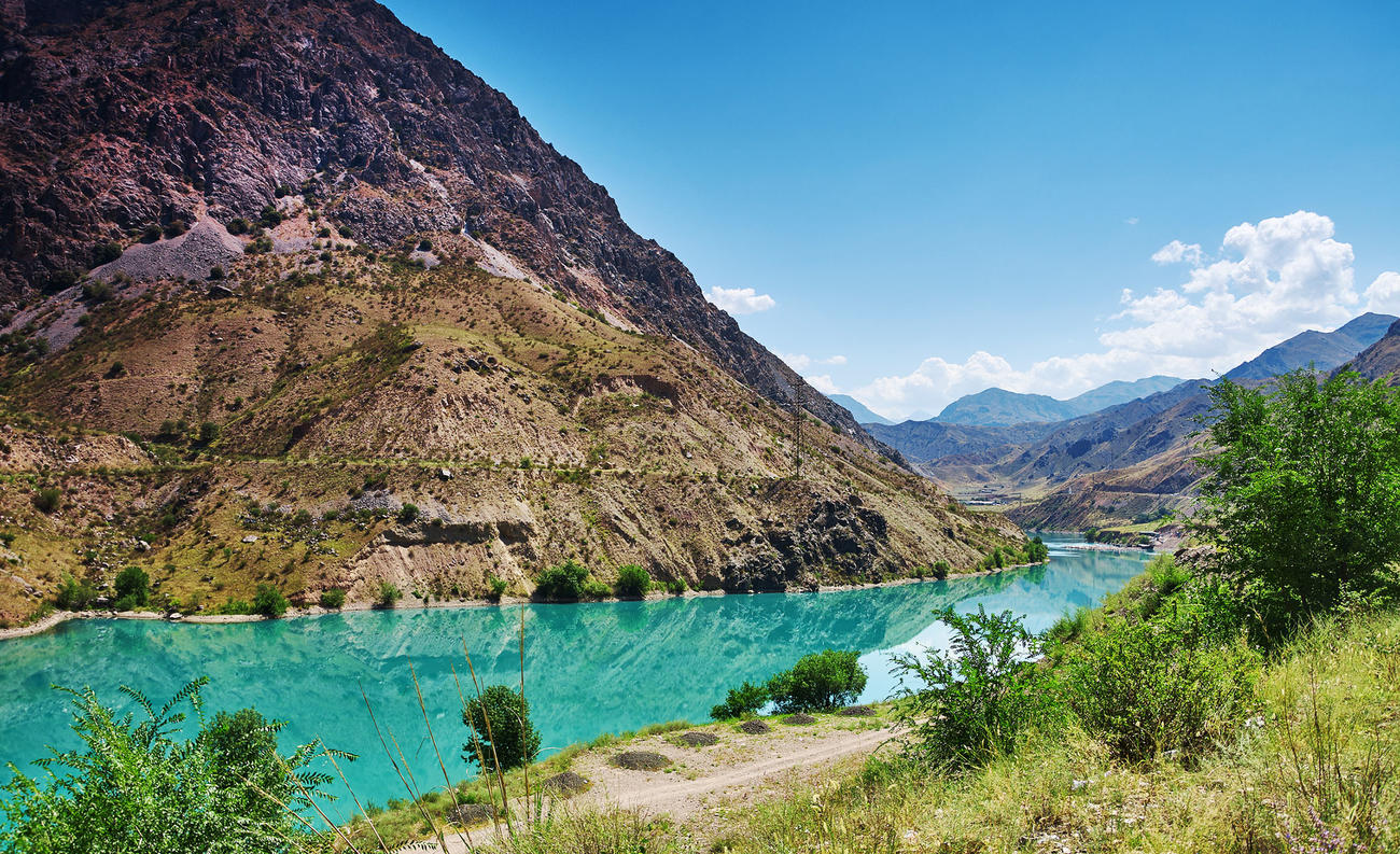 Discover the Naryn River when in Kyrgyzstan