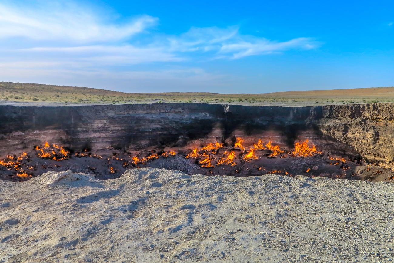 Visit Turkmenistan in Central Asia