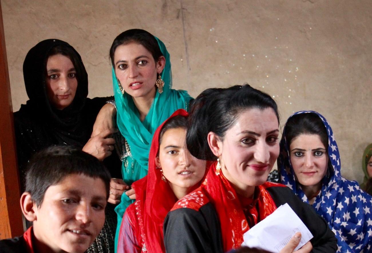 Afghan children Wakhan