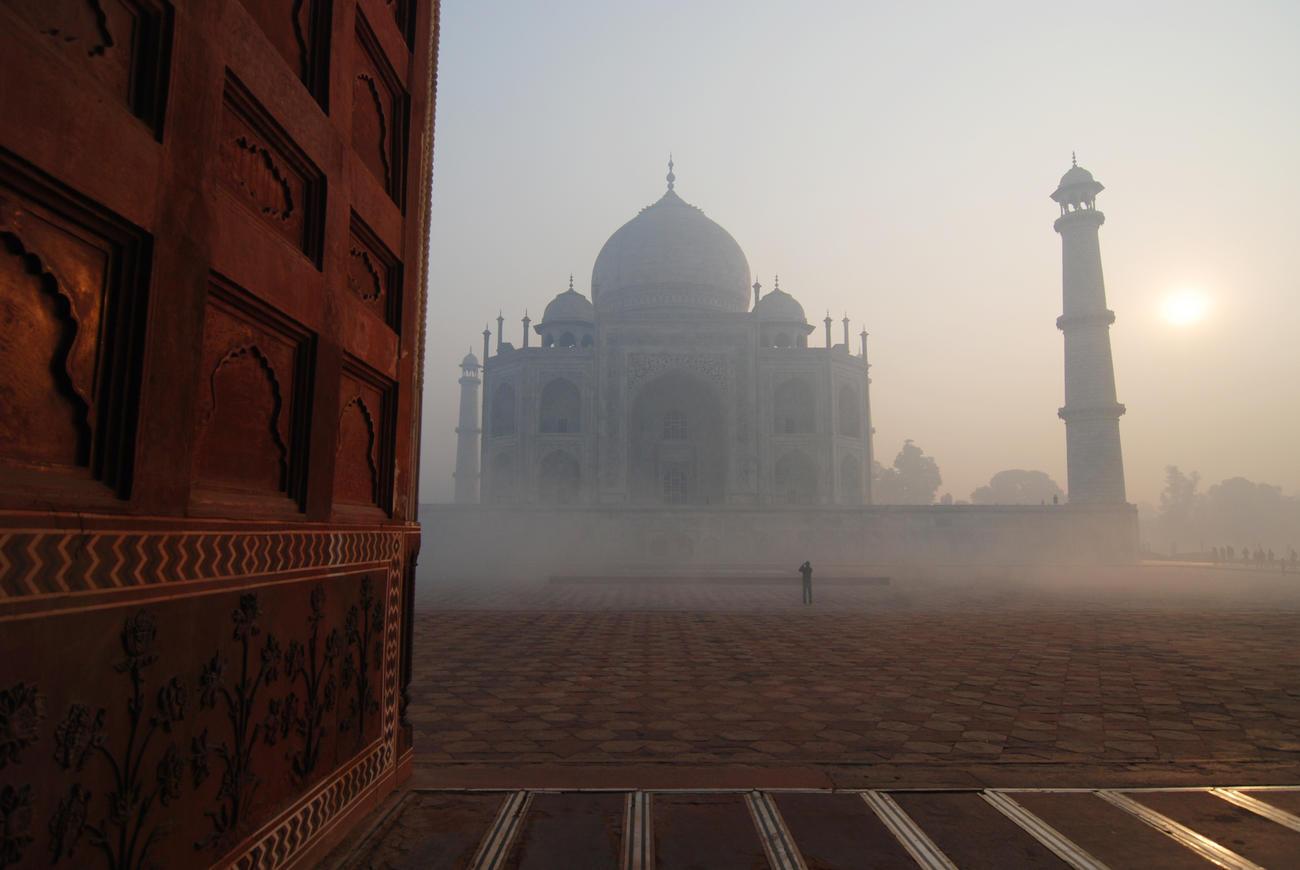 Visit the Taj Mahal in Rajasthan