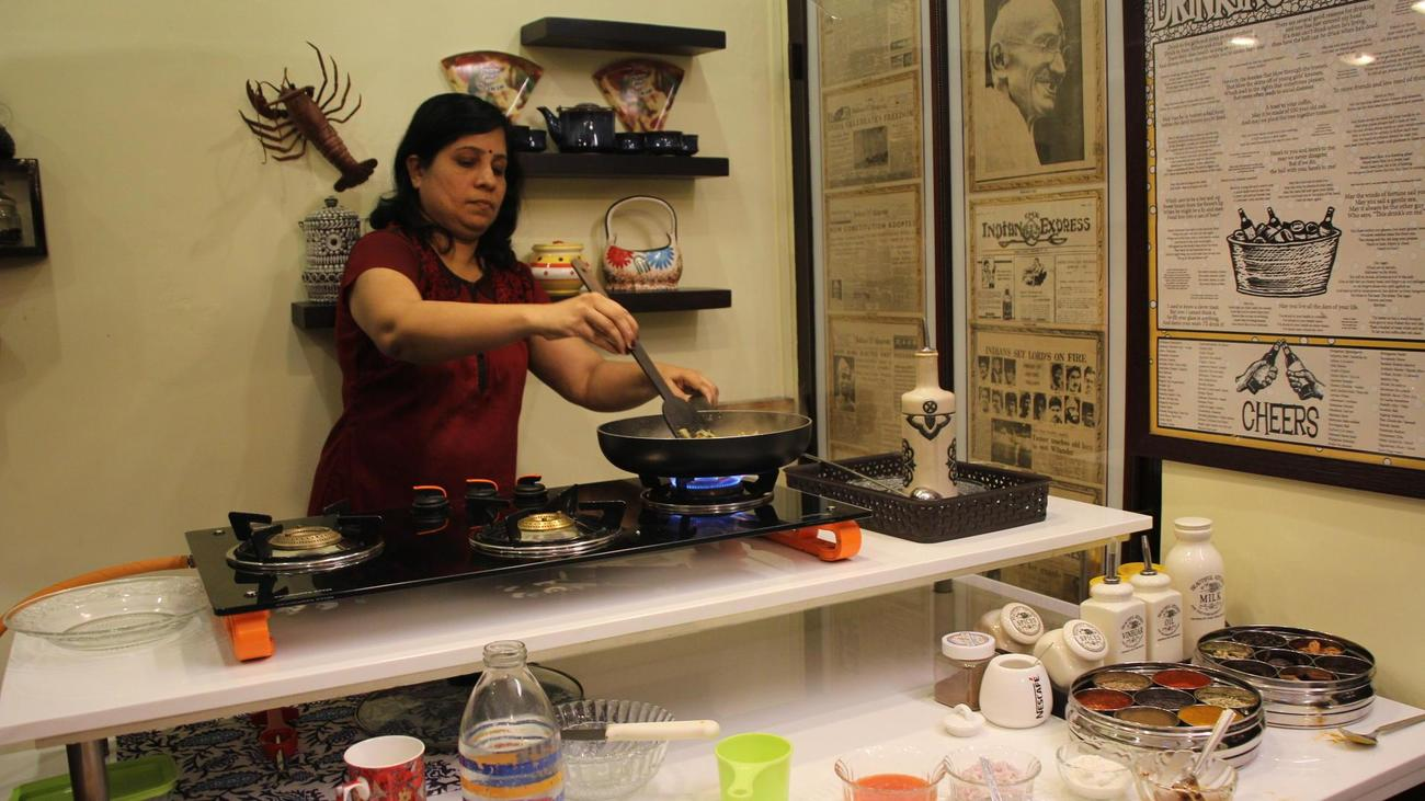 take a cooking class whilst in Cochin