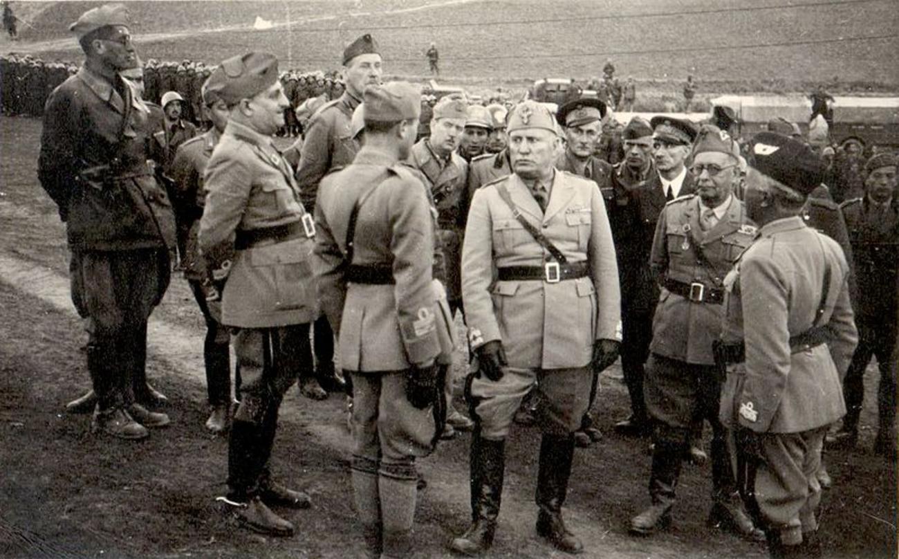 Mussolini in Albania