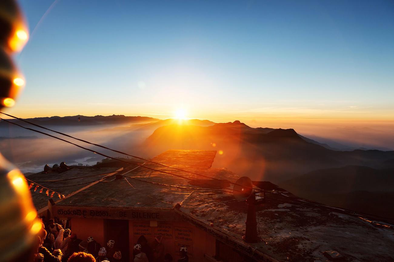 Climb Adam's Peak