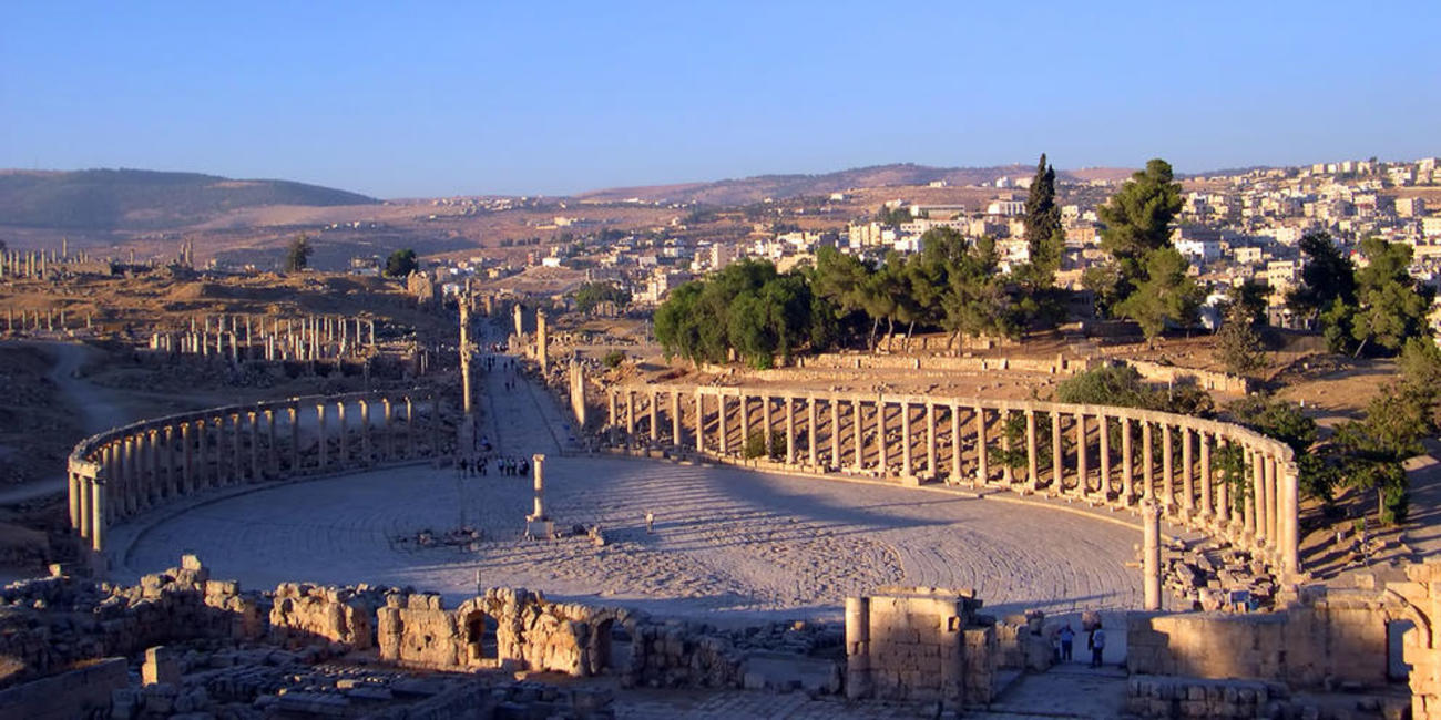 Best time to visit Jerash in Jordan