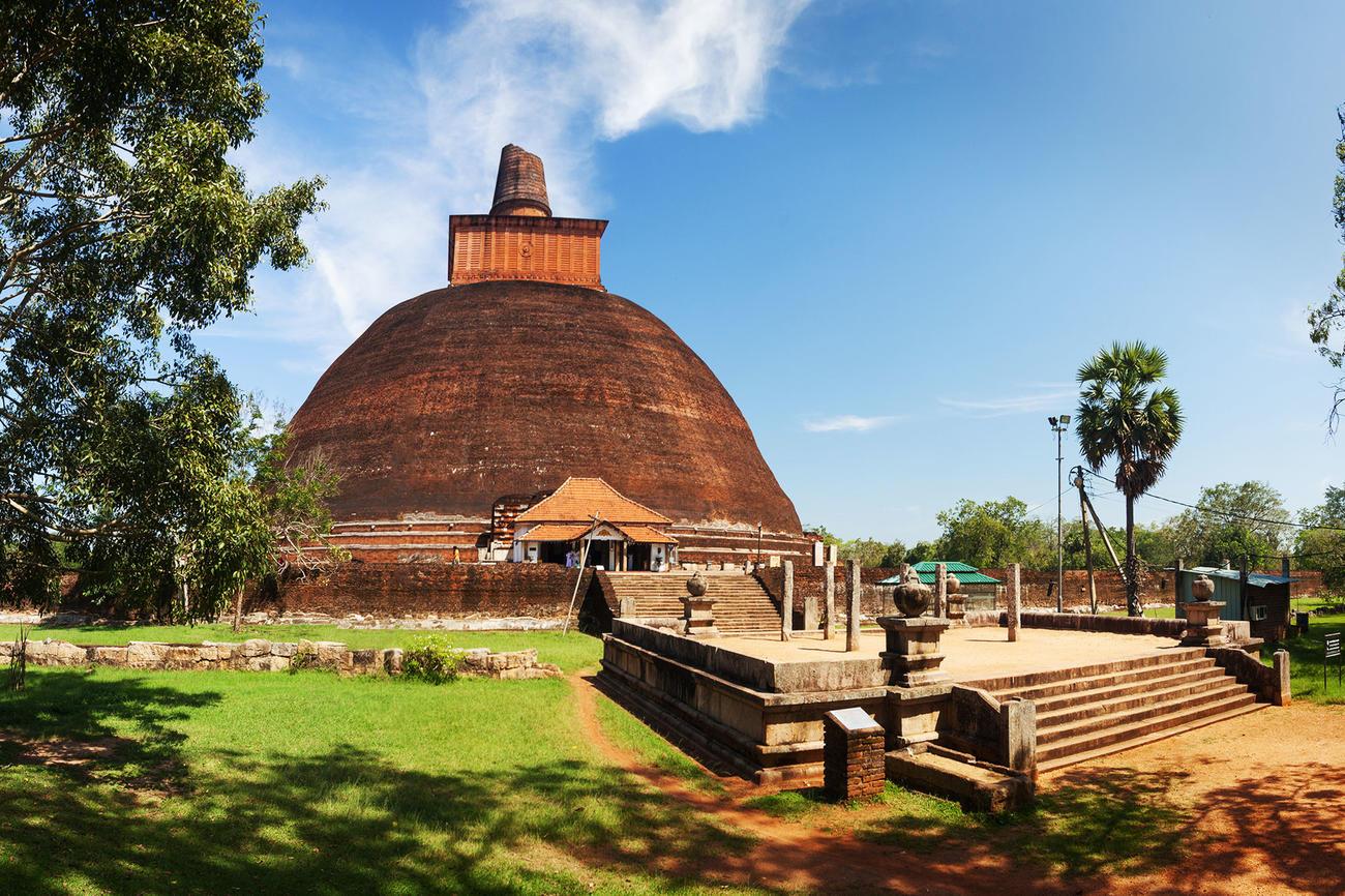 Cycle through Anuradhapura
