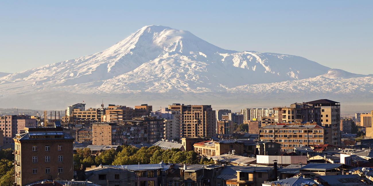 Armenia'a Capital Yerevan