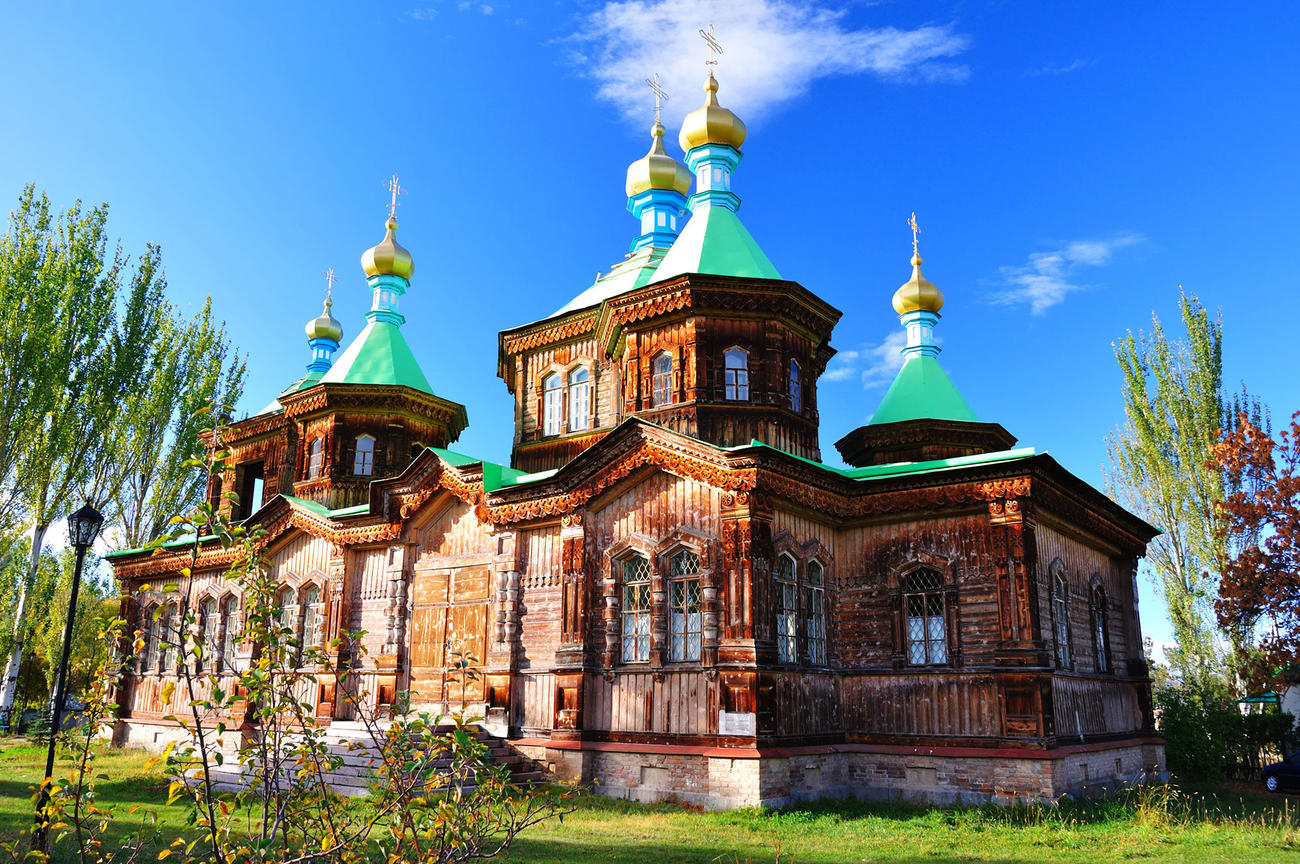Explore the Karakol Orthodox Holy Trinity Cathedral
