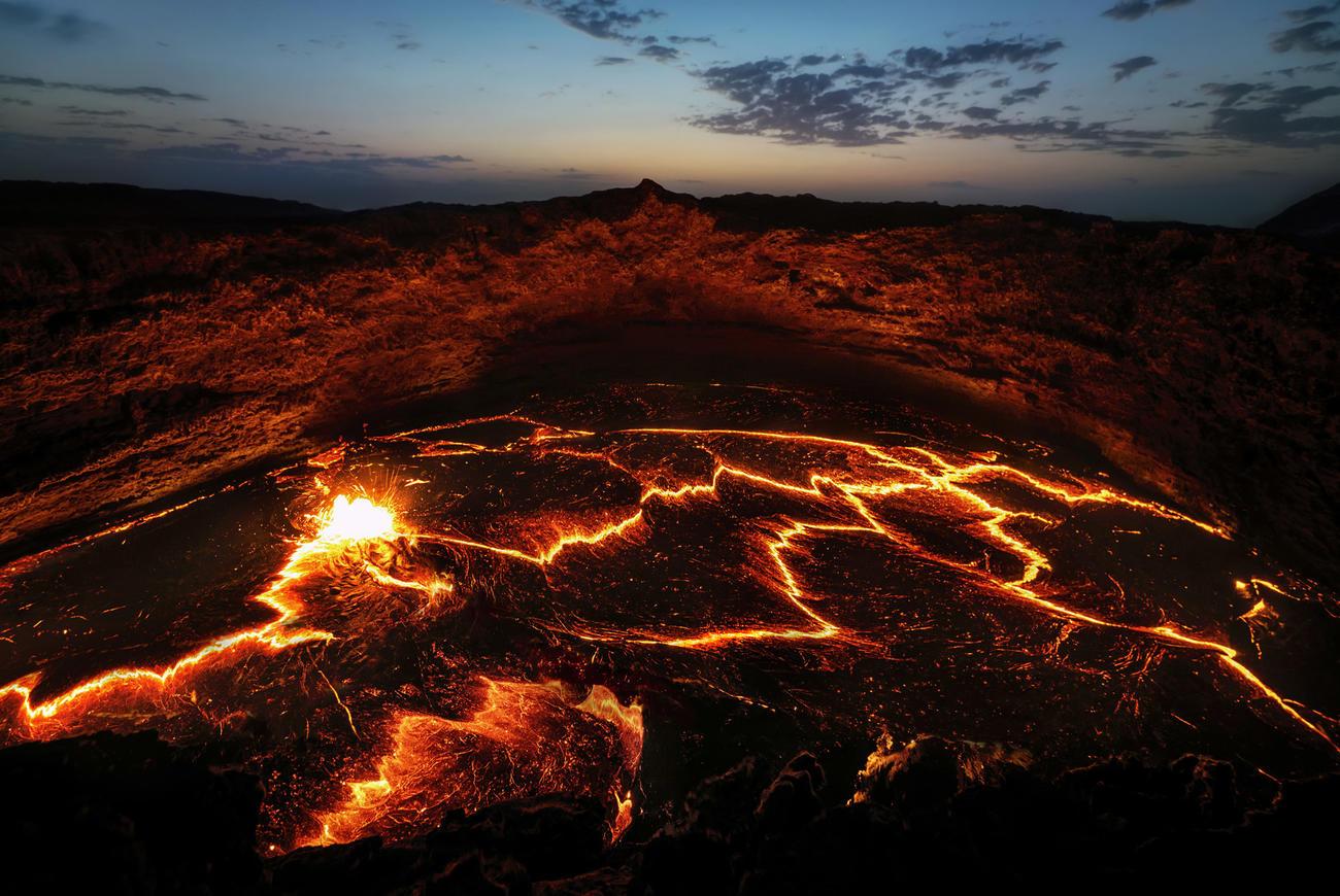 Trek to the Erta Ale Volcano