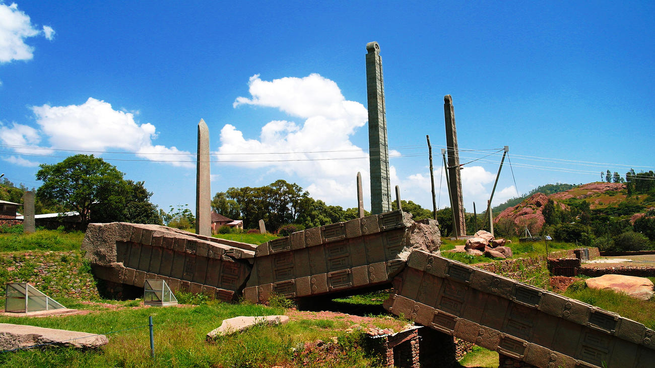 Visit Axum when in Ethiopia