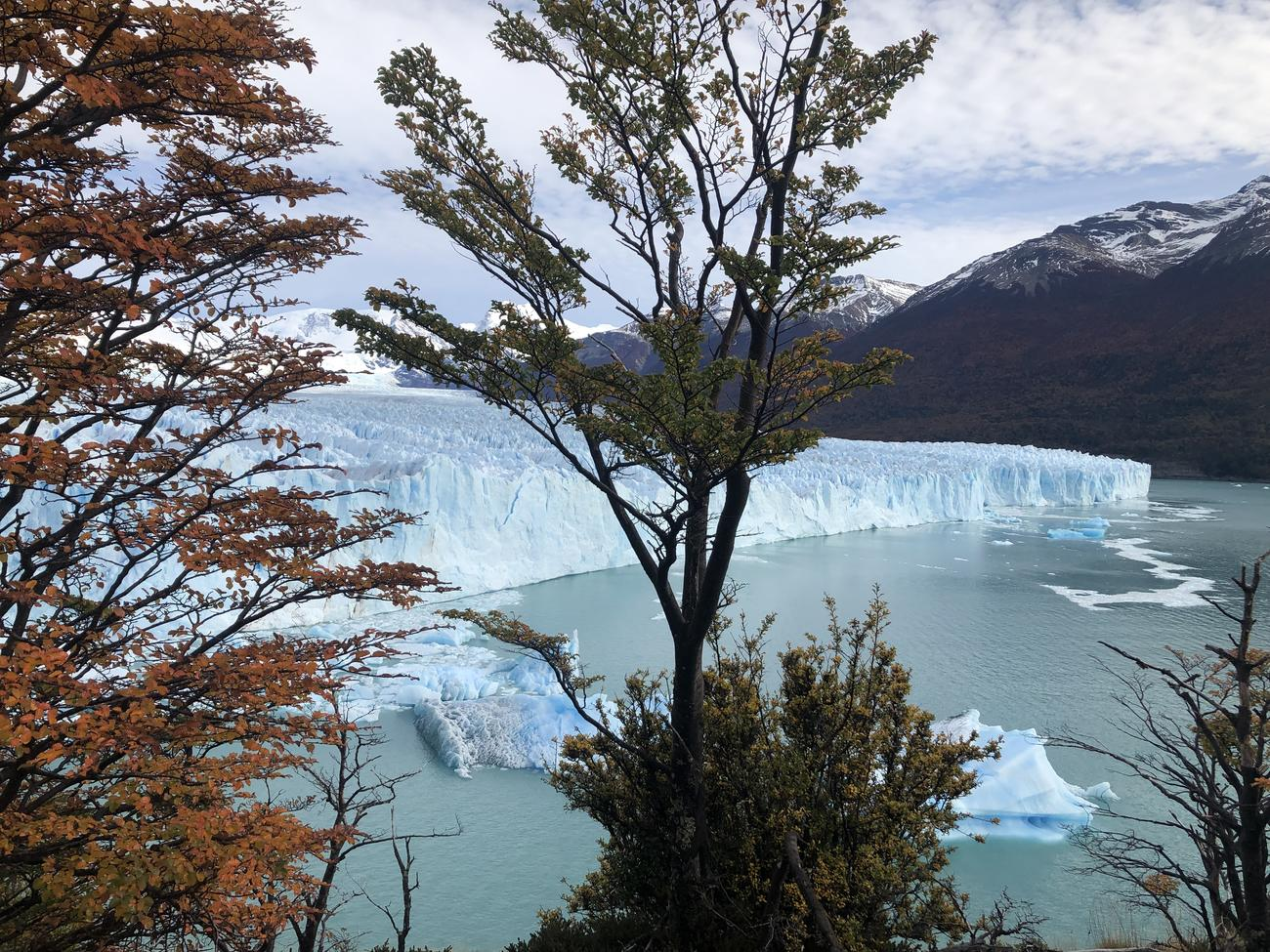 Perito Moreno Glacier in Autumn