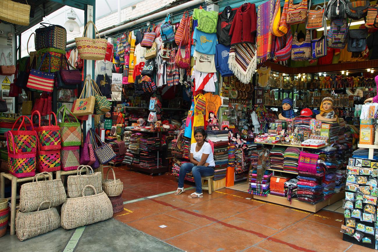 Miraflores market, Lima