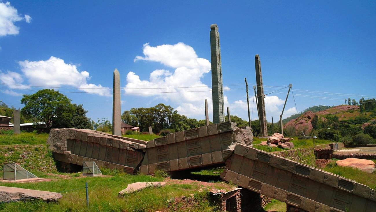 Visit Axum in Ethiopia