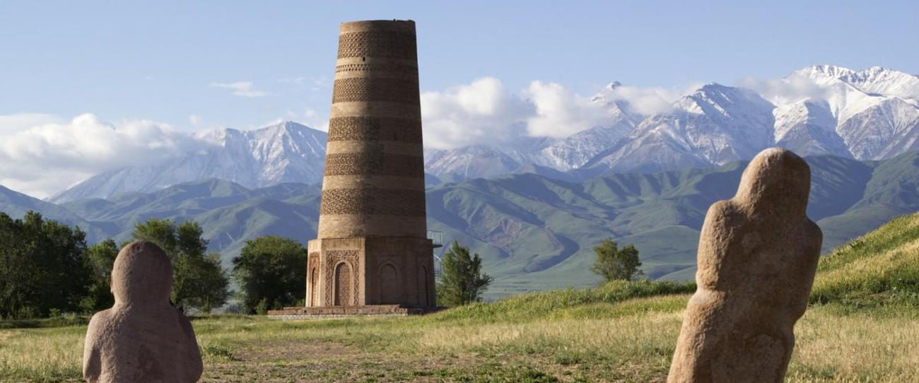 Old Burana Tower Silk Road