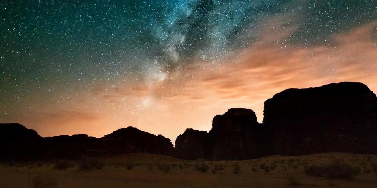 Stargazing in Wadi Rum