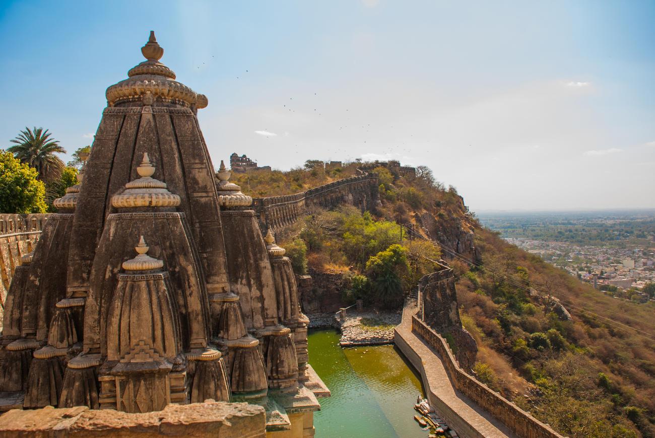 Visit Chittorgarh Fort when in Rajasthan