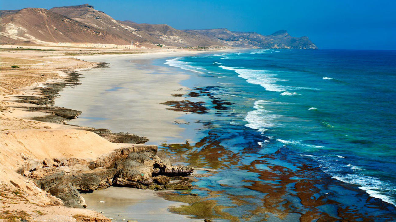 Visit Salalah Beach in Oman