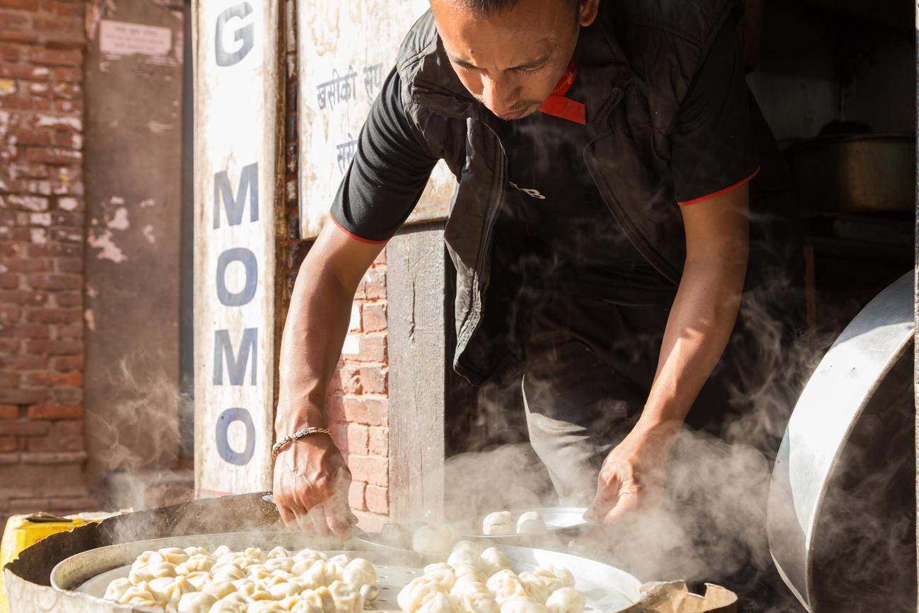 eating in nepal