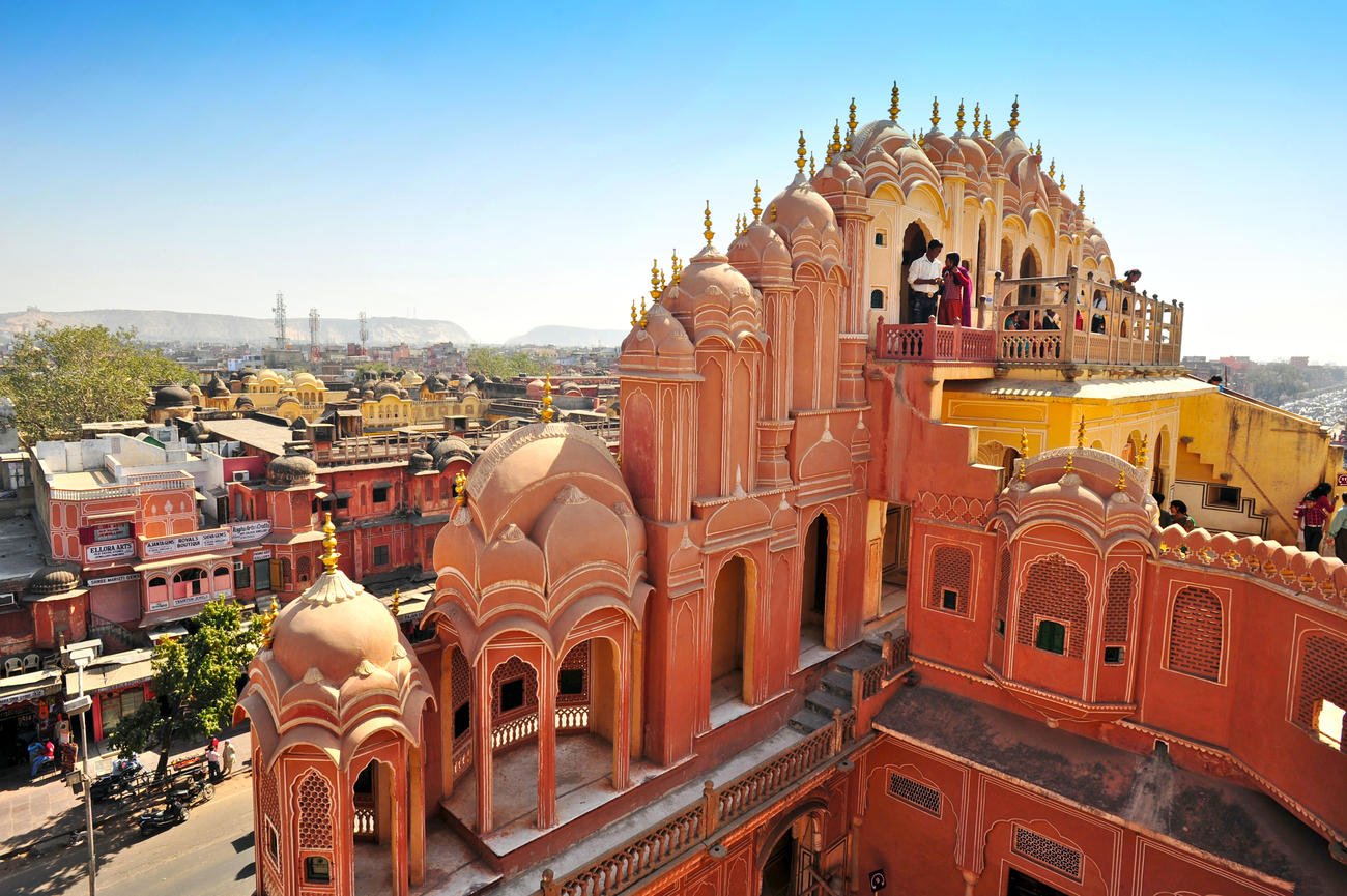 When in Rajasthan, visit Jaipur