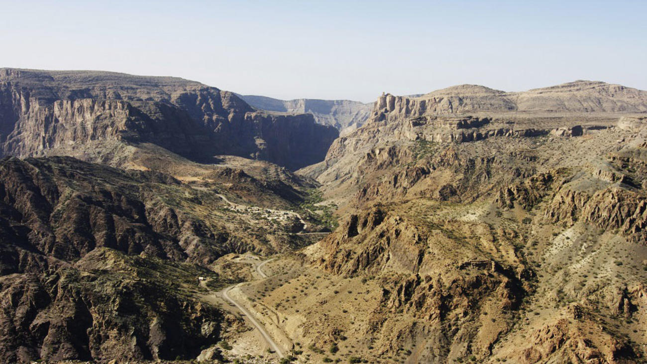 Oman Tours to Hajar Mountains