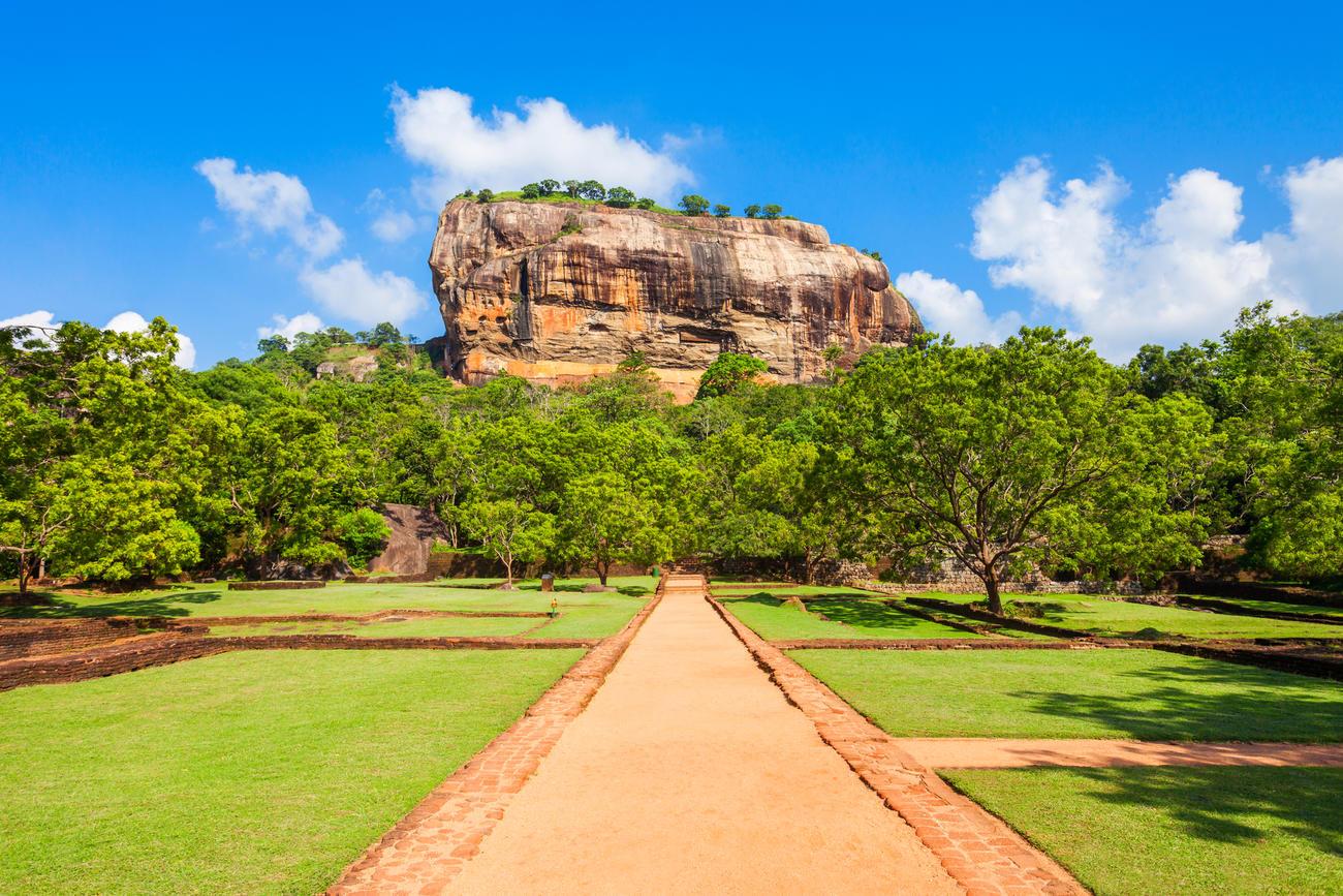Explore the UNESCO Sigiriya Rock Fortress