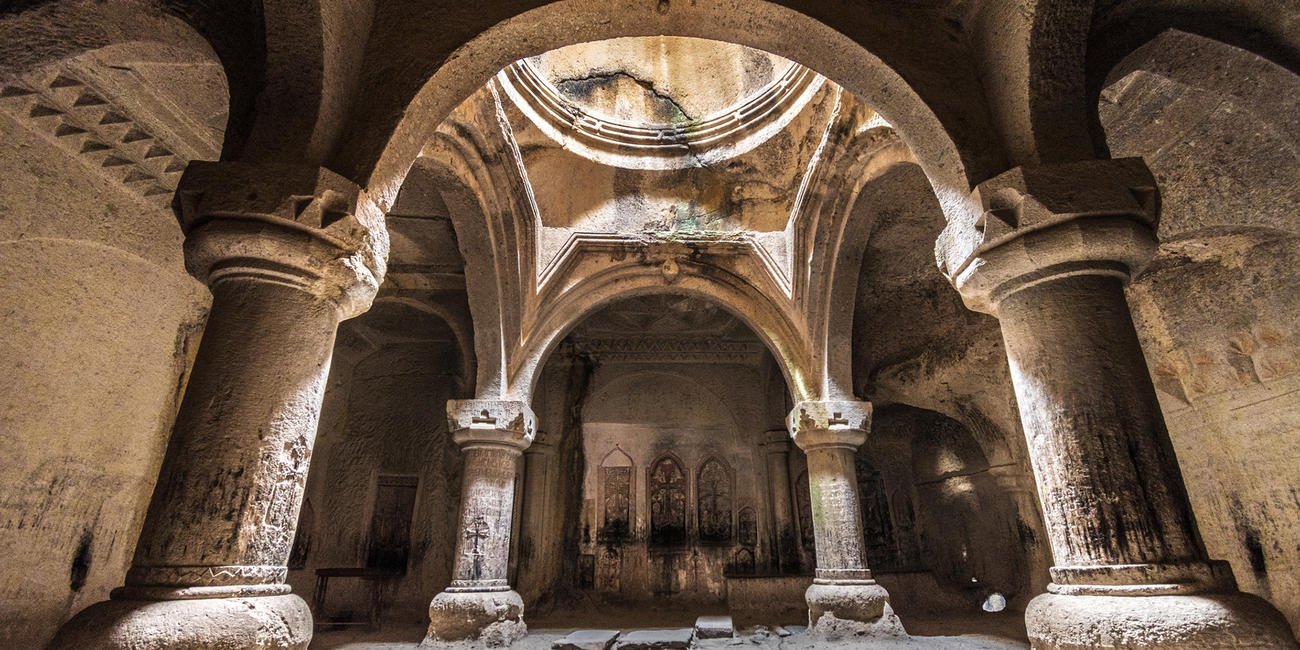 Visit Geghard Monastery in Armenia