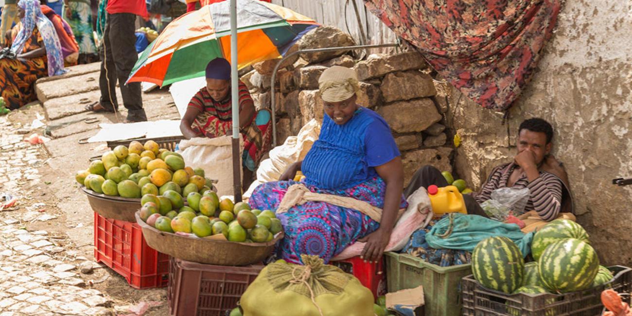 Ethiopian market