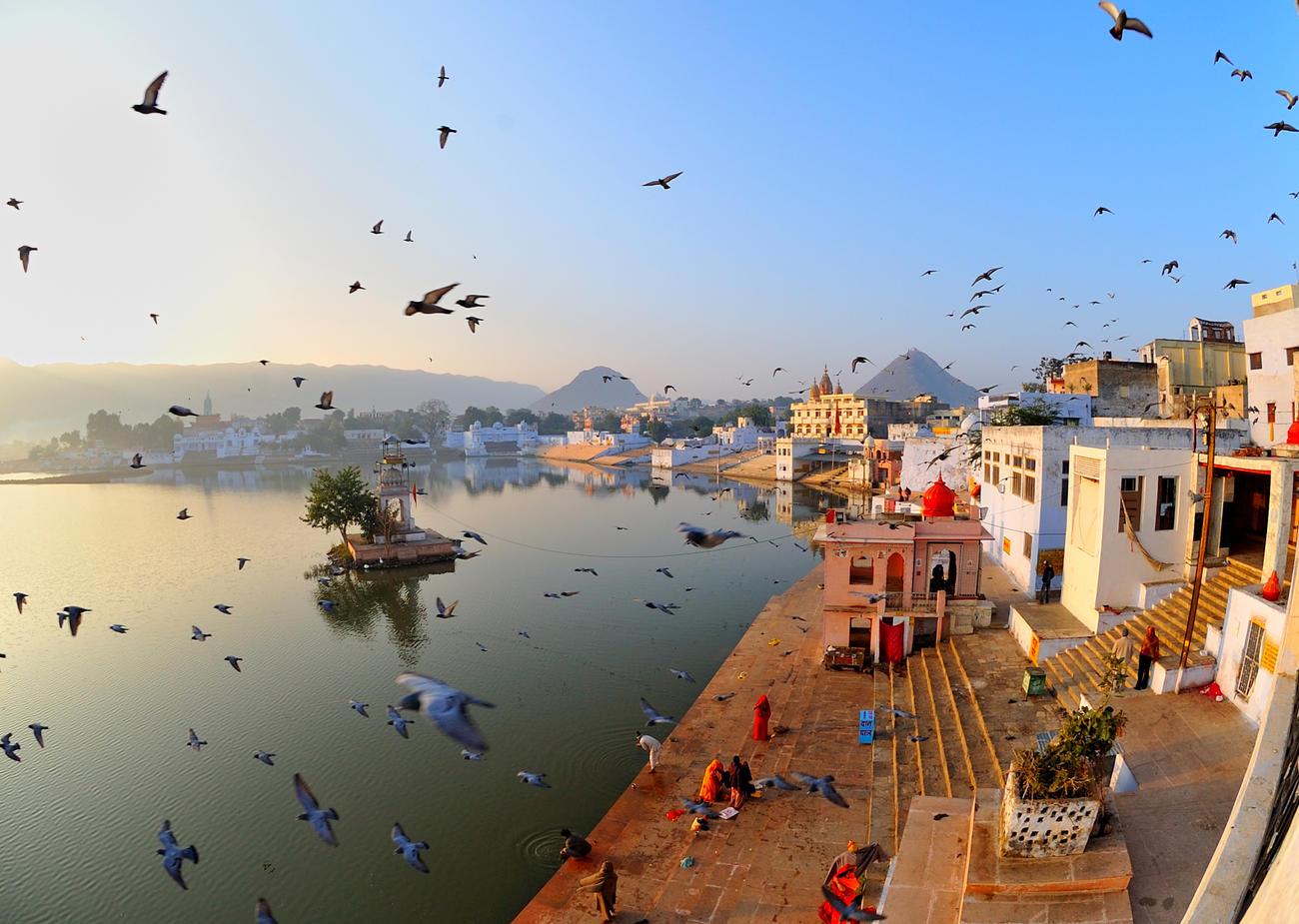 Sunrise at Pushkar