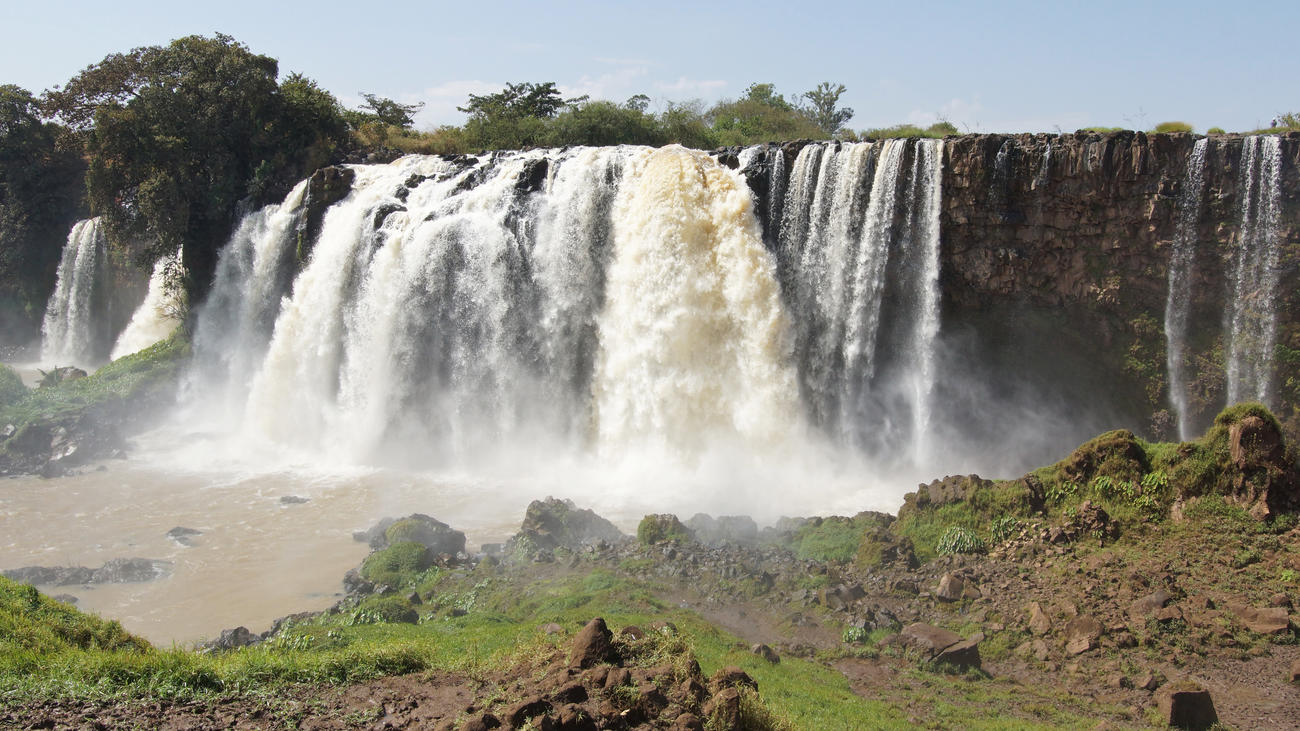 Visit the Blue Nile Falls when in Ethiopia