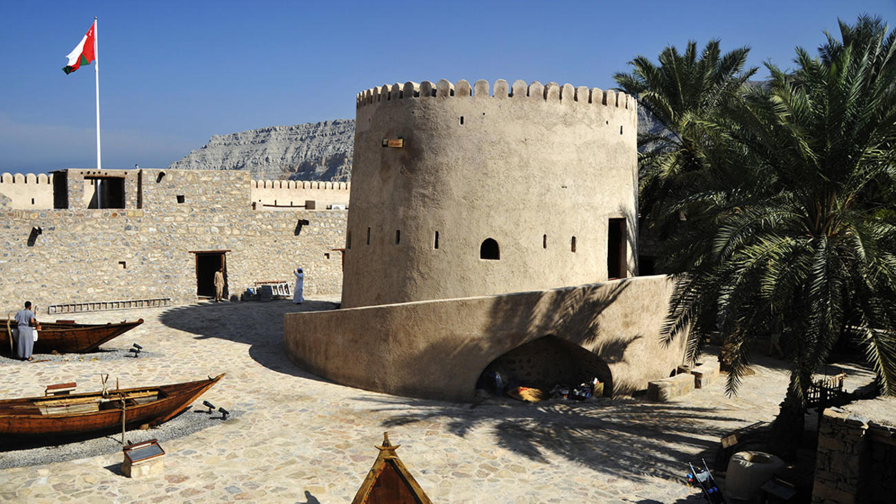 Places To Visit In Oman - Khasab Fort