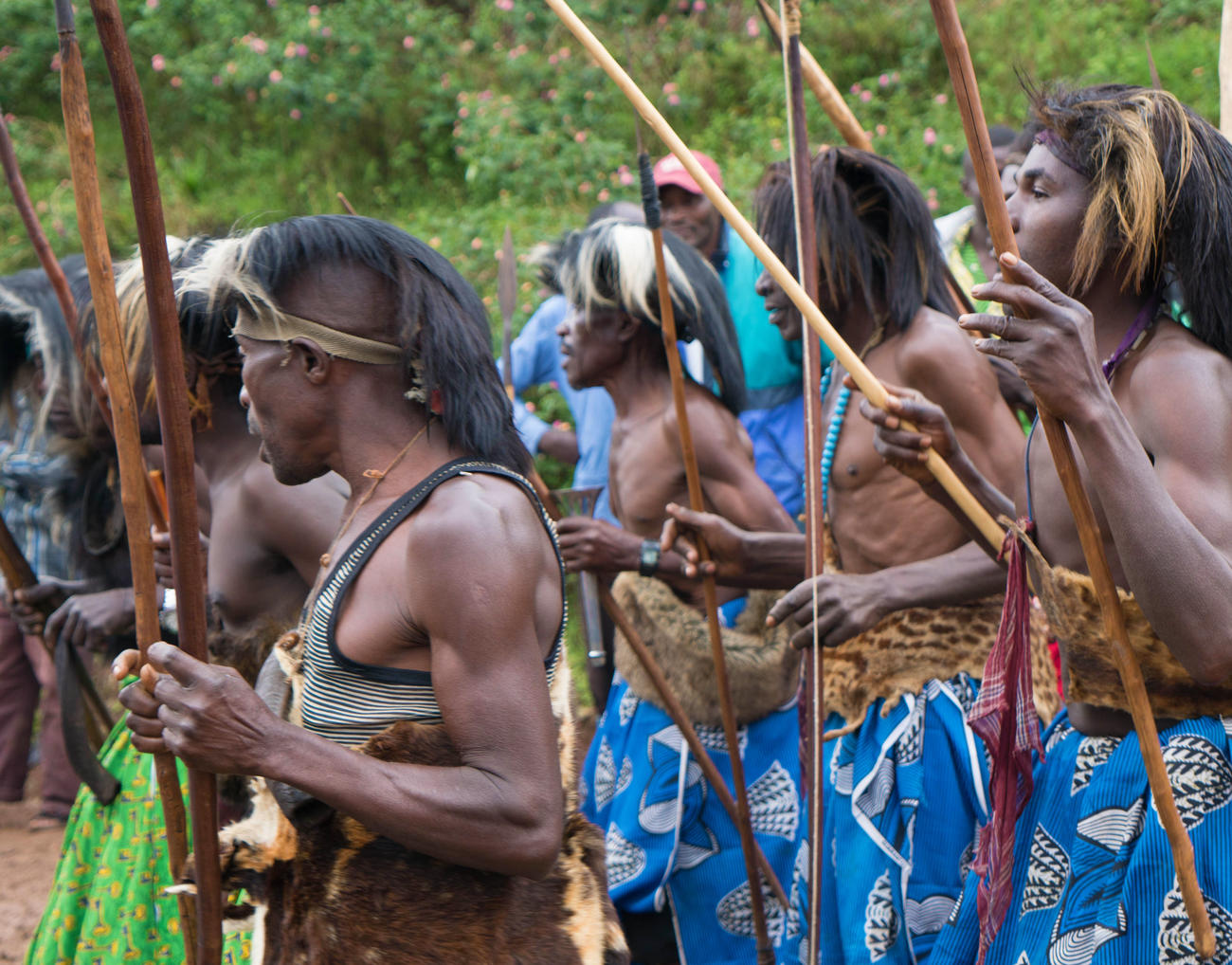 Tribal dance in the DRC