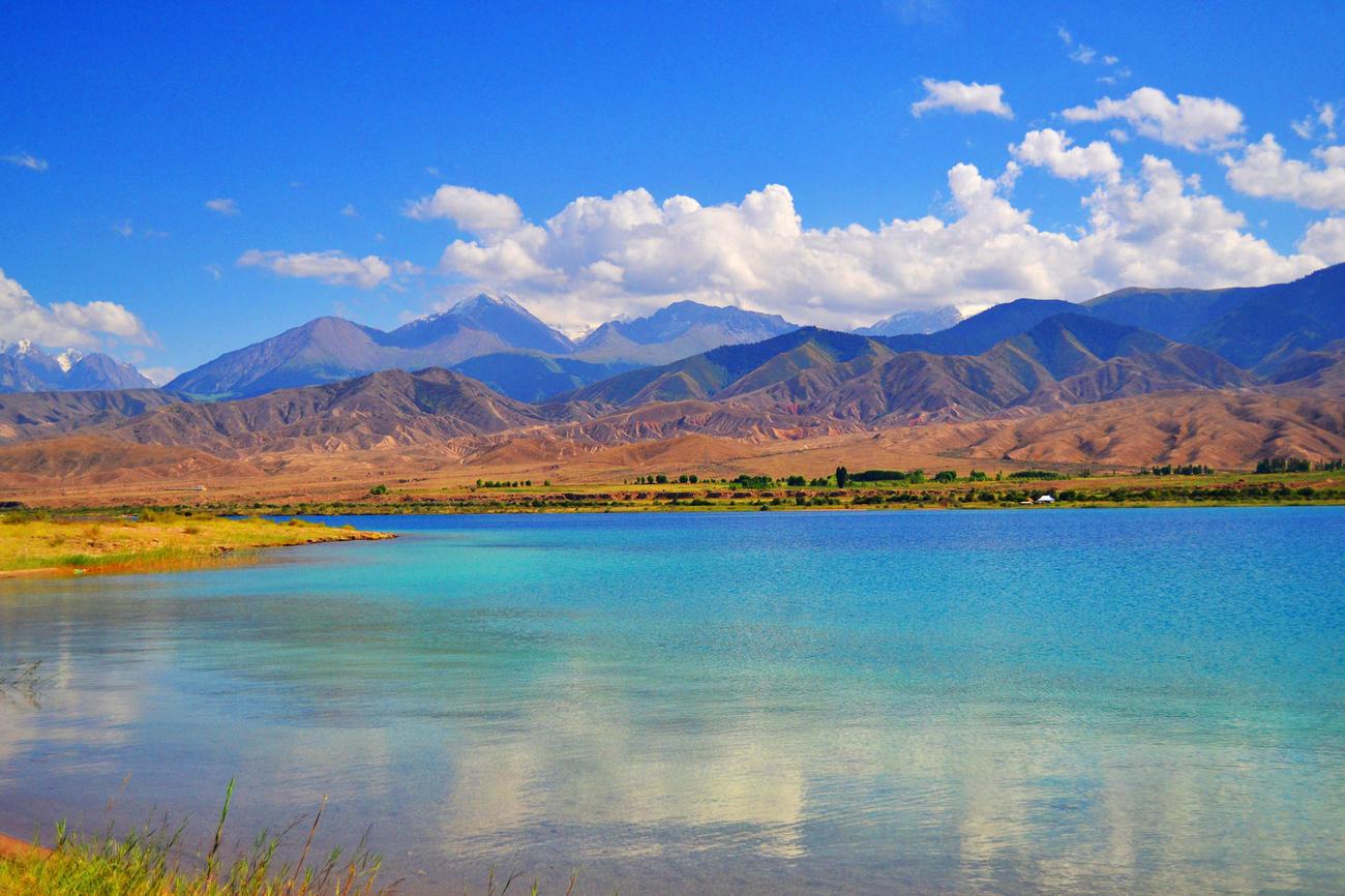 Issyk Kul Lake in Kyrgyzstan