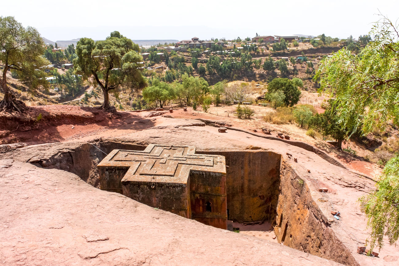 The Rock church in Lalibela