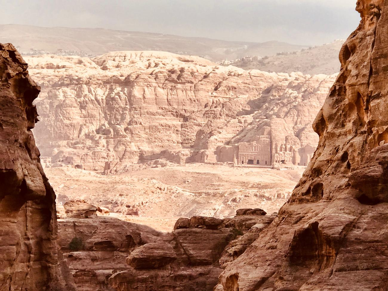 Petra in the early morning