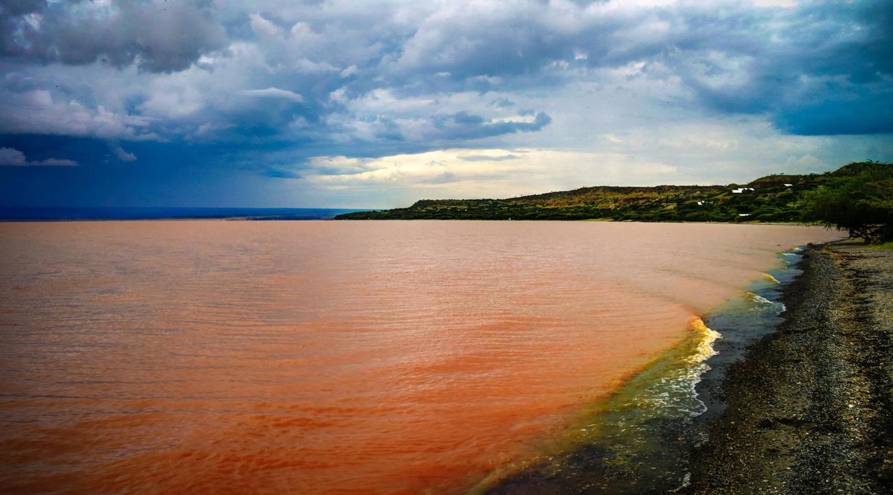 Langano Lake in Ethiopia
