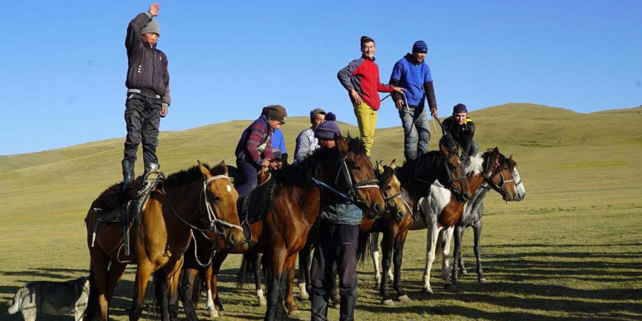 nomadic lifestyle in kyrgyzstan
