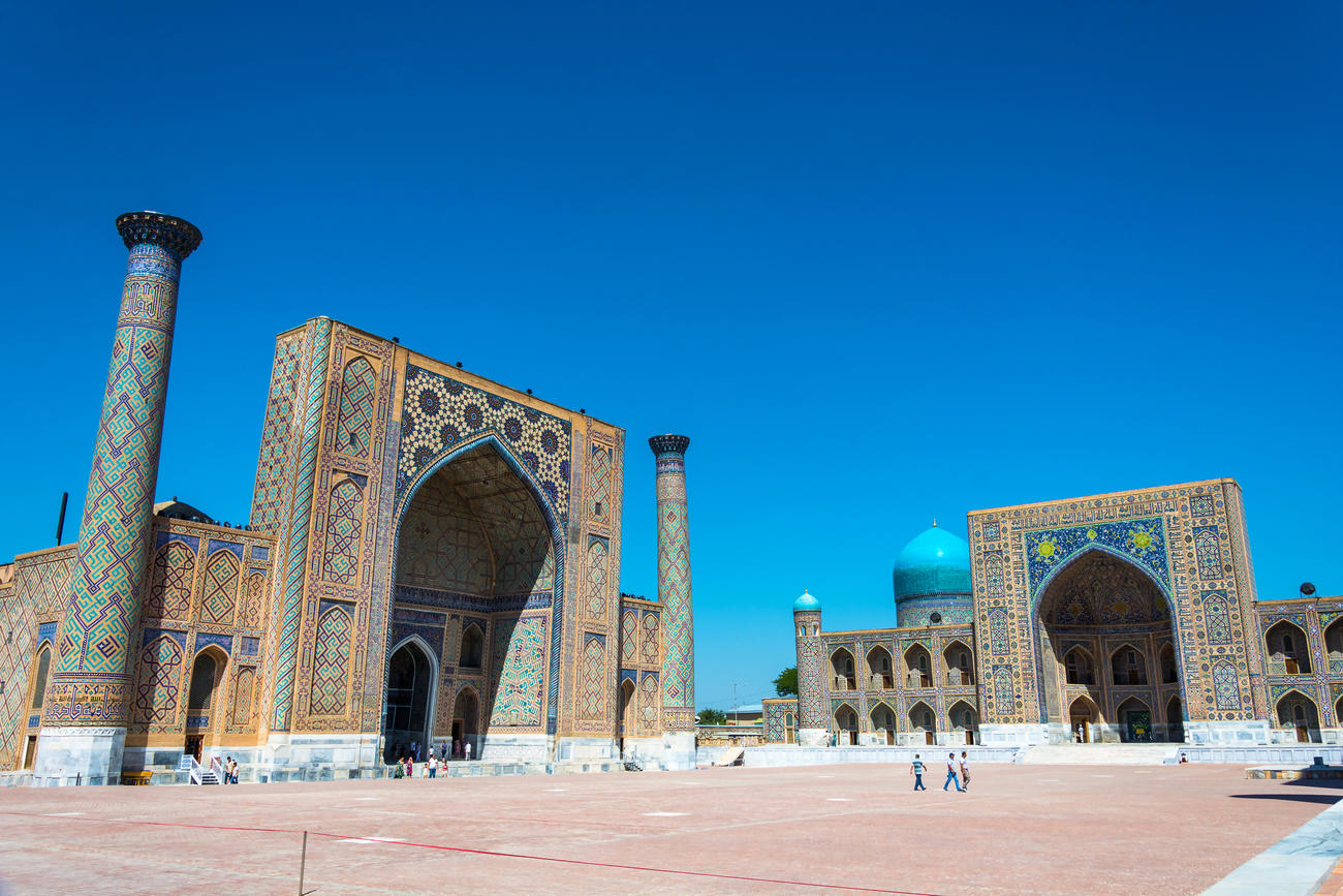 Places to visit in Central Asia  Uzbekistan