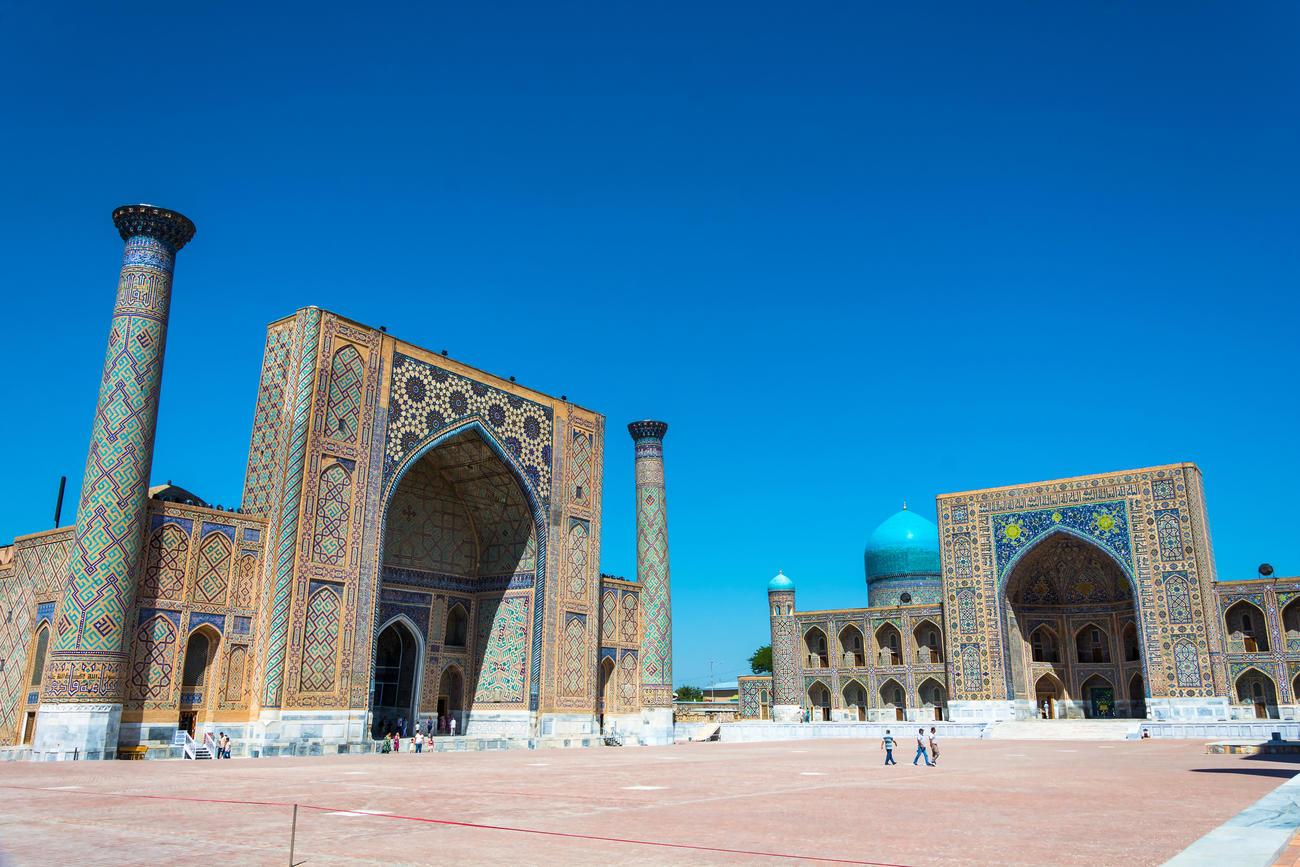 Places to visit in Central Asia  Uzbekistan