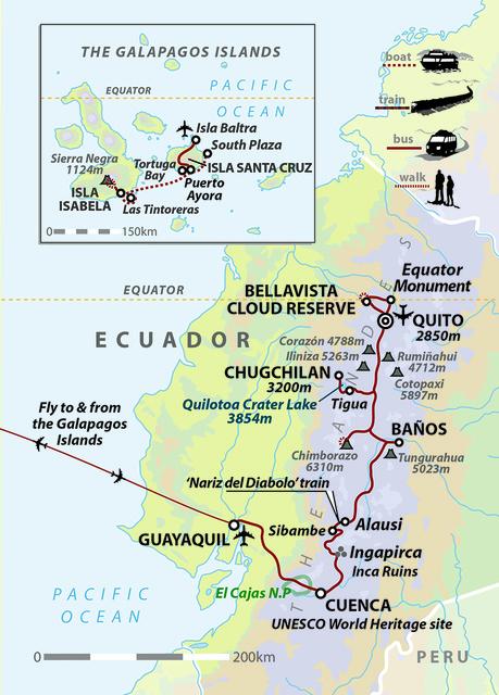 Darwin's Ecuador: Andes to Galapagos