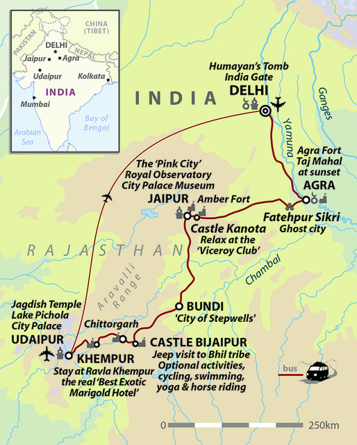 India: Classic Rajasthan