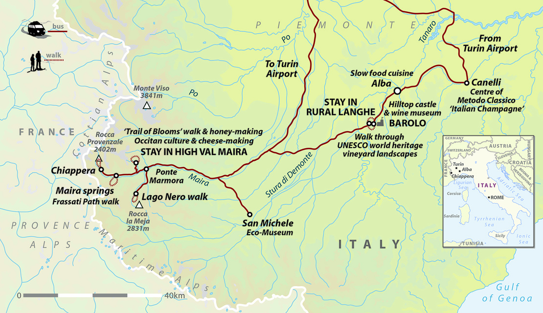 Italy: Walking & Wine in the Southern Alps