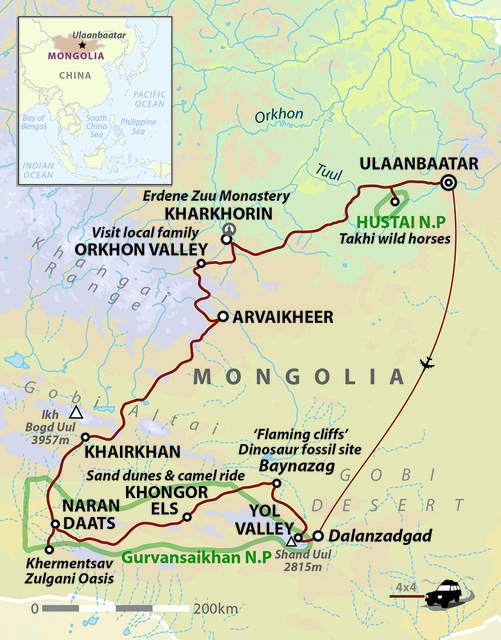 Mongolia: Land Of The Great Khan