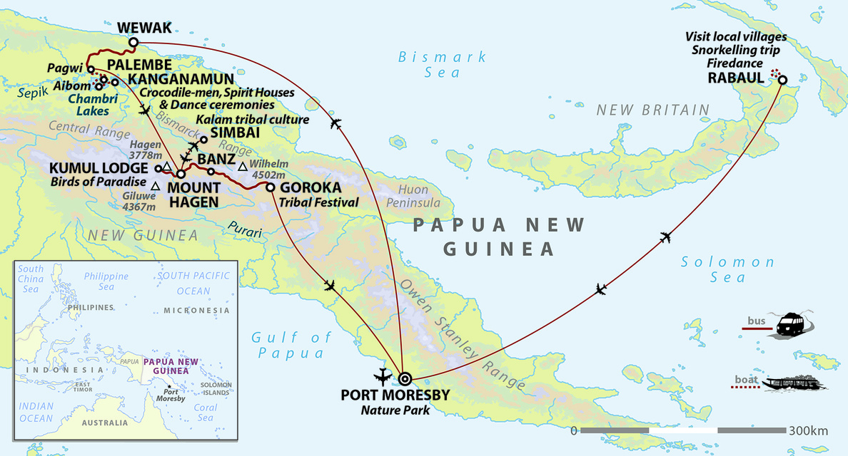Tribal Lands of Papua New Guinea